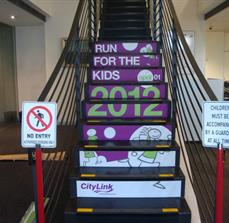 Promotional Stair Graphics