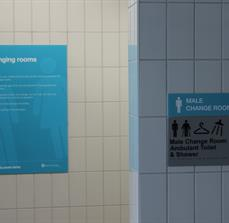 Information and tactile signs