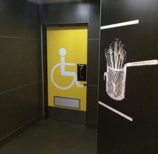McDonald's - Toilet Door Wrap