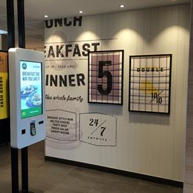 McDonald's - Unique Wall Display