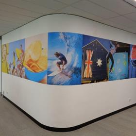Pepsico - Wall Graphic Strip