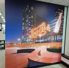Pepsico - Waiting Area Wall Graphic