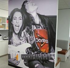 Pepsico - Lunch Area Wall Graphic