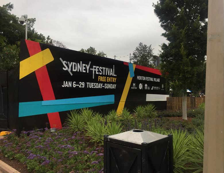 Sydney Festival - Billboard Graphic