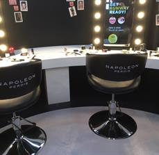 Madam Tussards - Vinyl Lettering on Chairs