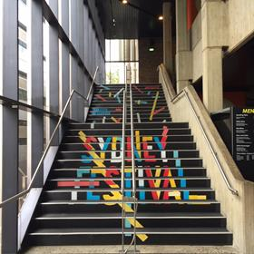 Sydney Festival - Stair Decals
