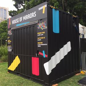 Sydney Festival - Container Graphics