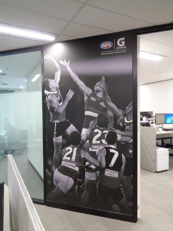Pepsico - Black and White Window Graphic
