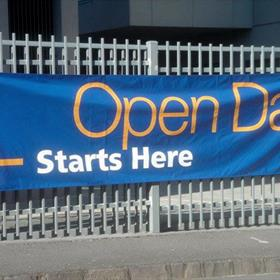 Open day banner