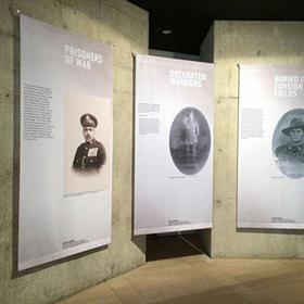 Fabric banners - exhibition