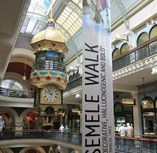 Large scale hanging banners