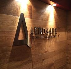 Stainless steel dimensional letters