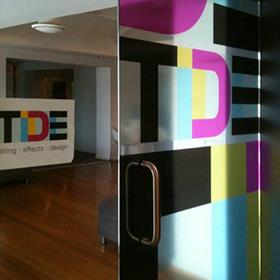 Window graphics including counter
