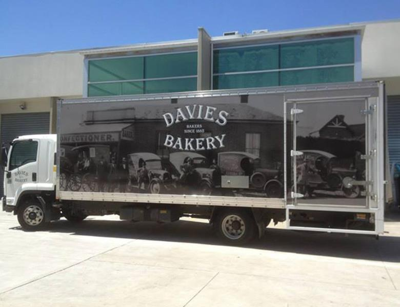 Large truck graphics