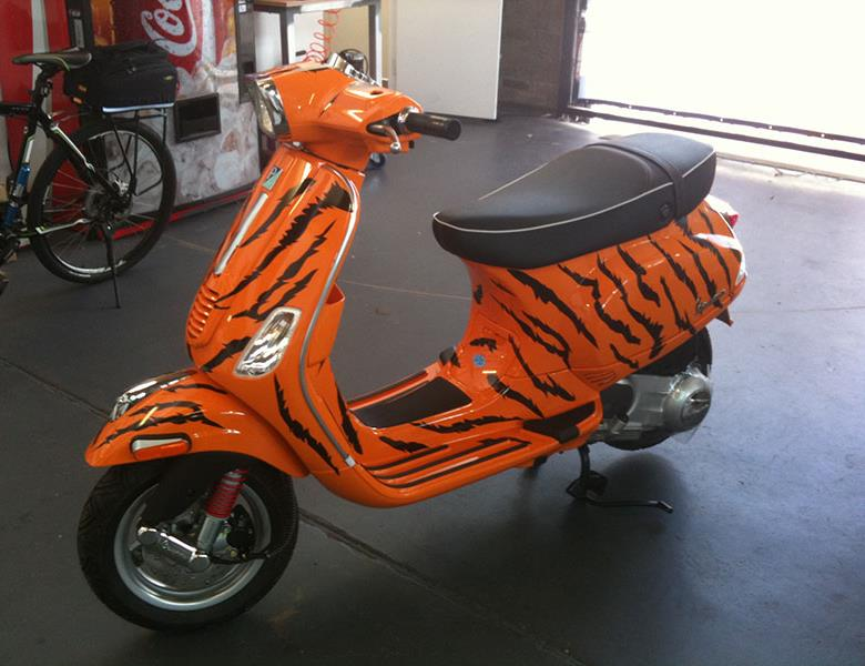 Scooter wrap