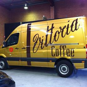 Full van graphic and wrap