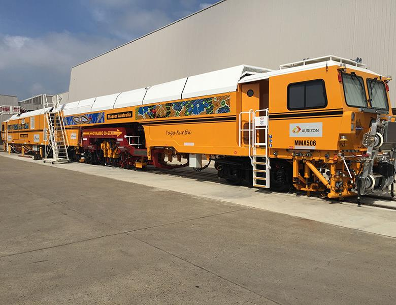 Train graphics and wrap