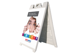 A-frame on-site promotion