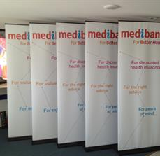Pull Up Banners - Promotional - Healthcare