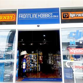Entrance - Frontline Hobbies