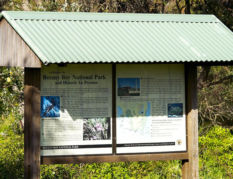 Information board - National Park
