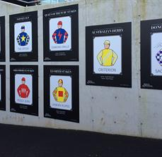 Display boards - Racecourse