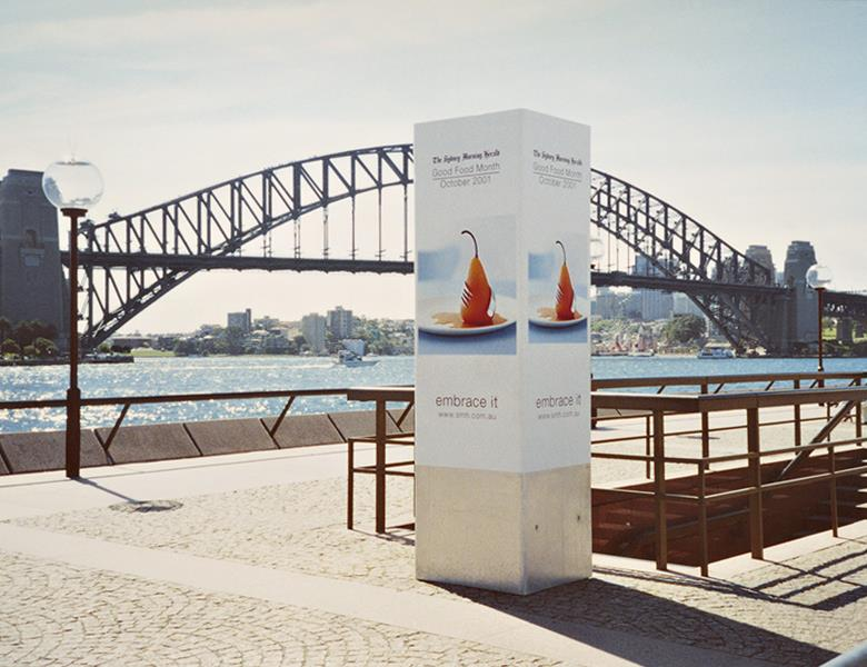 Promotional free standing