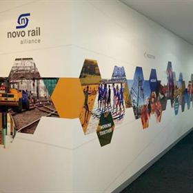 Die cut wall graphics