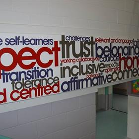 Key word wall graphic