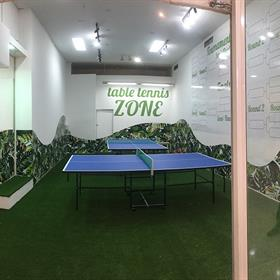 Table tennis wall graphics