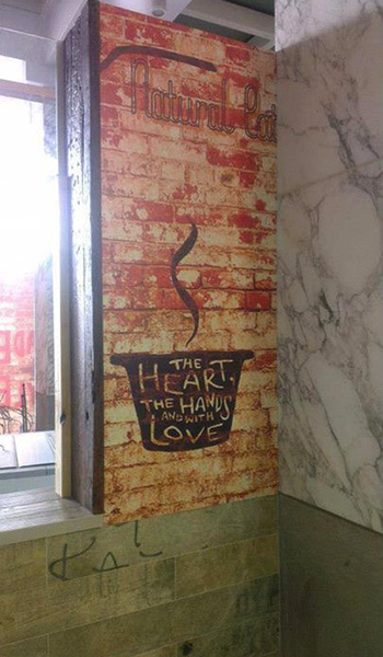 The Heart wall graphic