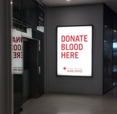 Light Box - Australian Red Cross