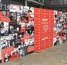 Promotional Media Wall