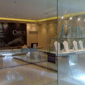 Retail shopfront signs and interior graphics