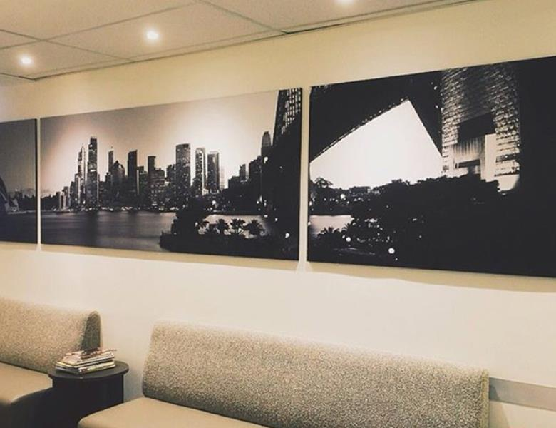 Printed Canvas wall art