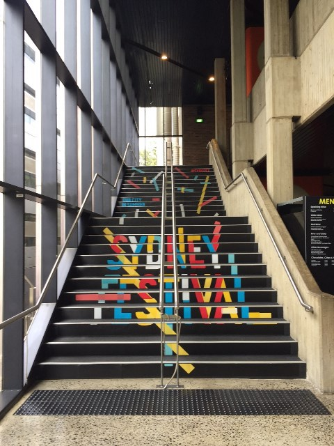 Sydney Festival Stair Graphic