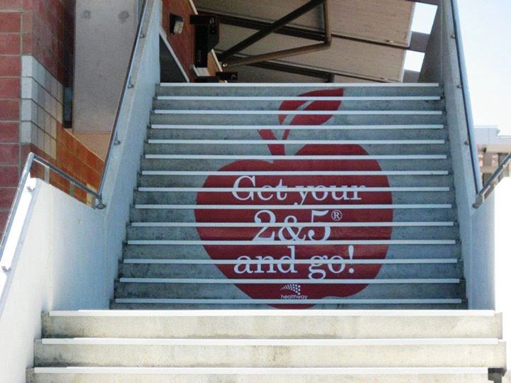 Apple Stair Graphic
