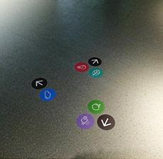Wayfinding Icon Floor Graphics