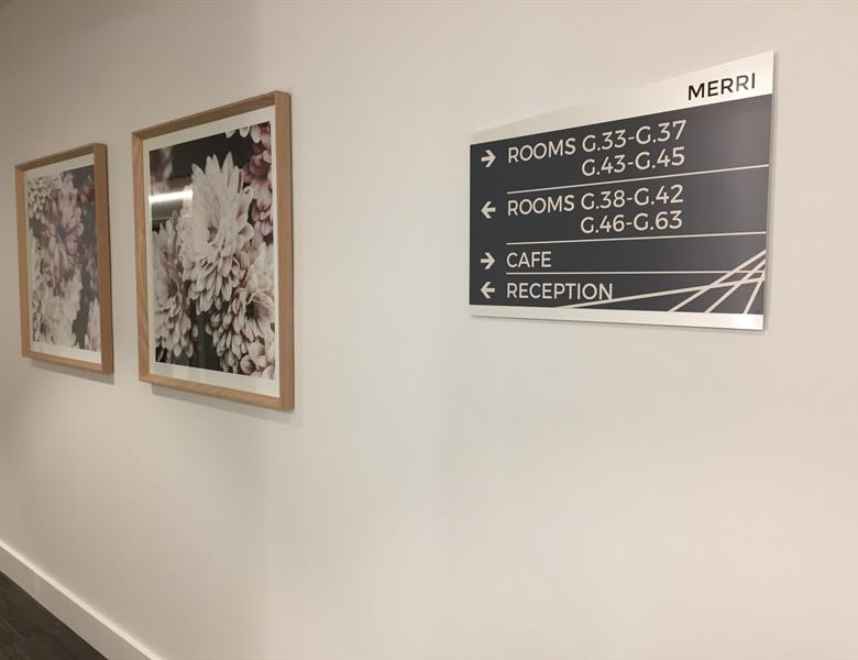 Direction Signage - Epping Gardens Aged Care