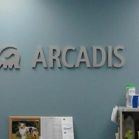 3D wall lettering